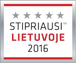 UAB Švaros meistrai stipriausi Lietuvoje 2016