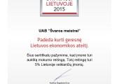 Švaros meistrai_Certificate